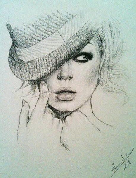 рисунки карандашом 2012: